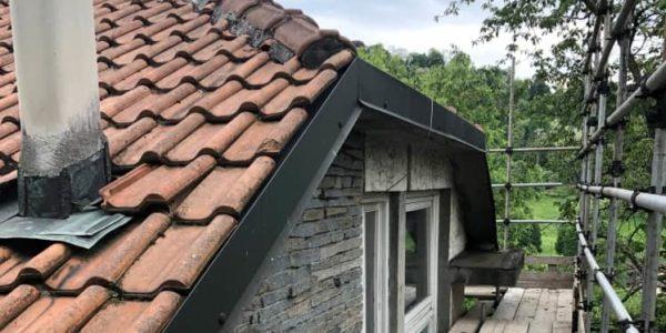 Tetto e facciata dopo ristrutturazione